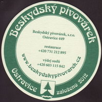 Pivní tácek beskydsky-pivovarek-28-zadek-small