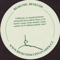 Pivní tácek beskydsky-pivovarek-3-zadek-small