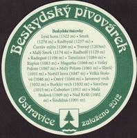 Pivní tácek beskydsky-pivovarek-33-zadek-small