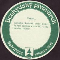 Pivní tácek beskydsky-pivovarek-36-zadek-small