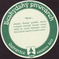 Pivní tácek beskydsky-pivovarek-37-zadek-small