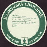 Pivní tácek beskydsky-pivovarek-39-zadek-small