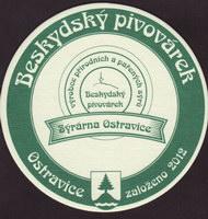 Beer coaster beskydsky-pivovarek-43-zadek-small
