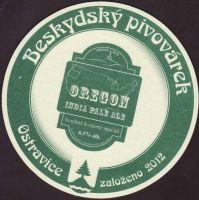 Pivní tácek beskydsky-pivovarek-50-zadek-small