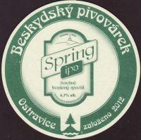 Pivní tácek beskydsky-pivovarek-61-zadek-small