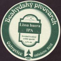 Pivní tácek beskydsky-pivovarek-62-zadek-small
