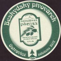 Pivní tácek beskydsky-pivovarek-65-zadek-small