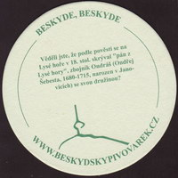 Pivní tácek beskydsky-pivovarek-7-zadek-small