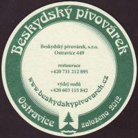 Pivní tácek beskydsky-pivovarek-70-zadek-small