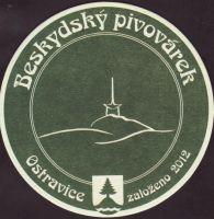 Pivní tácek beskydsky-pivovarek-74-small