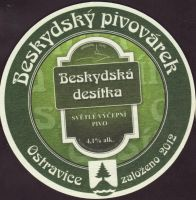 Pivní tácek beskydsky-pivovarek-76-zadek-small