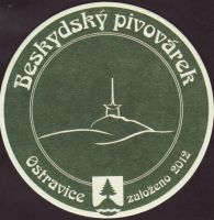 Pivní tácek beskydsky-pivovarek-85-small
