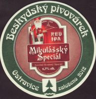 Pivní tácek beskydsky-pivovarek-89-zadek-small
