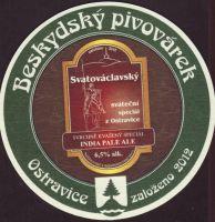 Pivní tácek beskydsky-pivovarek-91-zadek-small