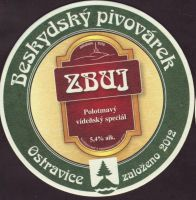 Pivní tácek beskydsky-pivovarek-93-zadek-small