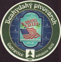Pivní tácek beskydsky-pivovarek-96-zadek-small