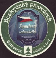 Pivní tácek beskydsky-pivovarek-99-zadek-small
