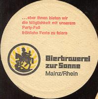 Beer coaster bierbrauerei-zur-sonne-1-zadek