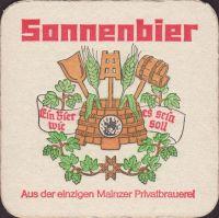 Beer coaster bierbrauerei-zur-sonne-3-small