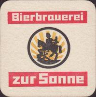 Beer coaster bierbrauerei-zur-sonne-3-zadek-small