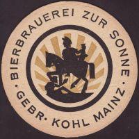 Beer coaster bierbrauerei-zur-sonne-4-small