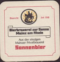 Beer coaster bierbrauerei-zur-sonne-5-small
