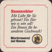 Beer coaster bierbrauerei-zur-sonne-5-zadek-small