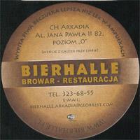 Beer coaster bierhalle-2-zadek