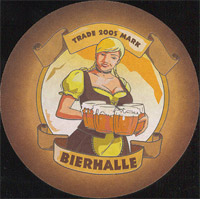Beer coaster bierhalle-2