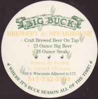 Beer coaster big-buck-1-zadek-small