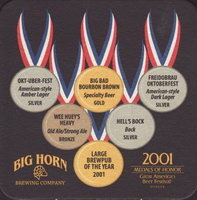 Beer coaster big-horn-2-small