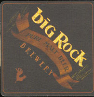 Beer coaster big-rock-10