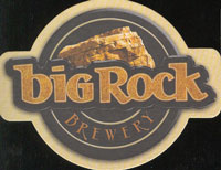 Beer coaster big-rock-12