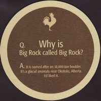 Beer coaster big-rock-17-zadek