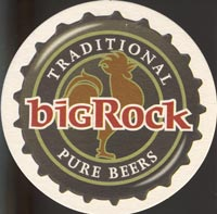 Beer coaster big-rock-2