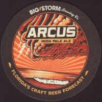 Beer coaster big-storm-4-small