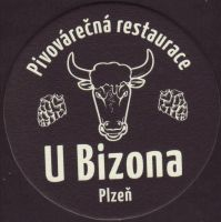 Beer coaster bizon-2-small