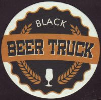 Beer coaster black-beer-truck-1