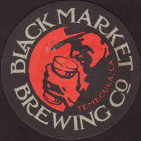 Beer coaster black-market-2-small