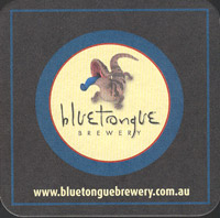 Beer coaster blue-tongue-3