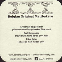 Beer coaster bom-brewery-2-zadek-small