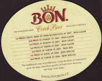 Beer coaster bon-9-zadek-small