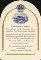 Beer coaster borbecker-2-zadek