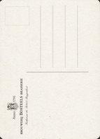 Pivní tácek bosteels-10-zadek-small