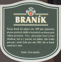 Beer coaster branik-7-zadek