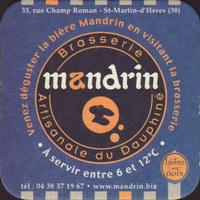 Pivní tácek brasserie-artisanale-du-dauphine-mandrin-1-small