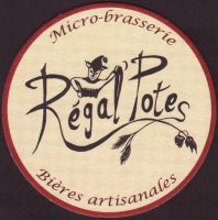 Beer coaster brasserie-artisanale-regal-potes-1-small