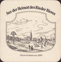 Pivní tácek brauerei-ried-25-zadek-small