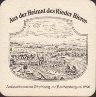 Pivní tácek brauerei-ried-26-zadek-small