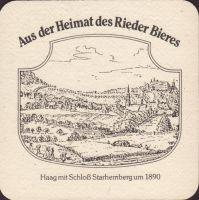 Pivní tácek brauerei-ried-27-zadek-small